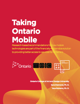 Taking Ontario Mobile report cover